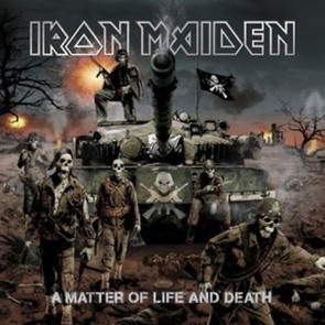 A MATTER OF LIFE AND DEATH (1CD DIGI WITH FIGURINE)