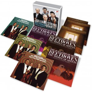 JUILLIARD STRING QUARTET - THE BEETHOVEN 9CD