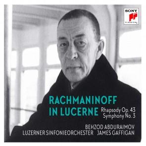 RACHMANINOFF IN LUCERNE - Rhapsody on a Theme of Paganini CD