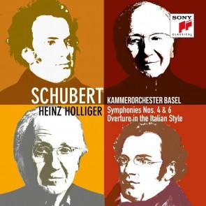 SCHUBERT: SYMPHONIES NOS. 4 & 6 CD