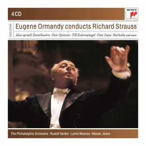 EUGENE ORMANDY CONDUCTS RICHARD STRAUSS 4CD