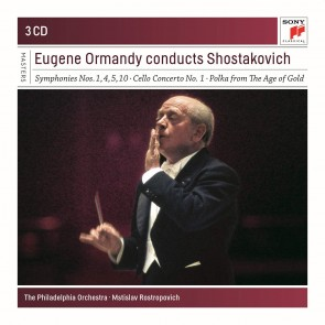 EUGENE ORMANDY CONDUCTS SHOSTAKOVICH 3CD