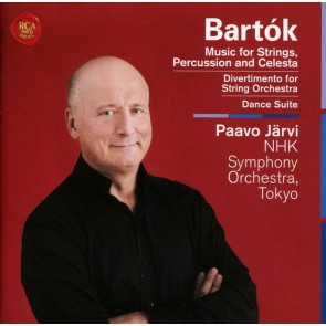 BARTÓK: MUSIC FOR STRINGS, PERCUSSION CD
