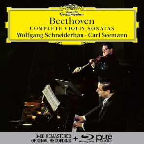COMPLETE VIOLIN SONATAS (3CD+ BLU RAY)