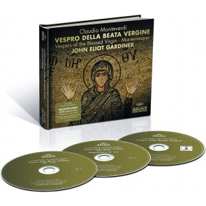 VESPRO DELLA BEATA VERGINE 2CD+DVD