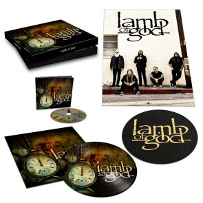 LAMB OF GOD BOX INCL. DIGIPAK / BONUSTRACK, 20 PAGES BOOKLET,  PIC LP, POSTER AND SLIPMAT BOXSET