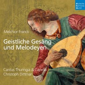Melchior Franck: Geistliche Gesang Und Melodeyen cd