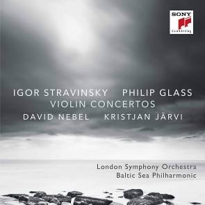 Stravinsky & Glass: Violin Concertos CD