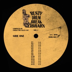 Rusty Drum Break Library vol. 1 LP