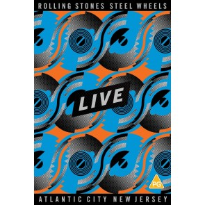 Steel Wheels Live: Atlantic City New Jersey DVD