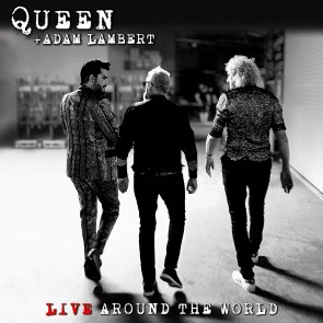 LIVE AROUND THE WORLD CD+DVD (QUEEN+ ADAM LAMBERT)