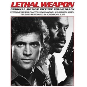 CLAPTON, SANBORN, KAMEN. LETHAL WEAPON (LP LIMITED CLEAR RSD '20)