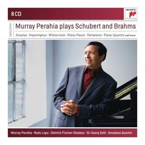 MURRAY PERAHIA PLAYS BRAHMS AND SCHUBERT 8CD