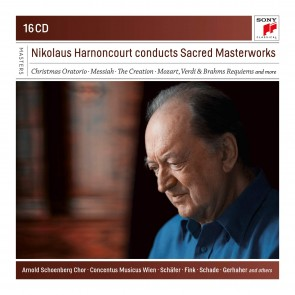 NIKOLAUS HARNONCOURT CONDUCTS SACRED MAS 16CD