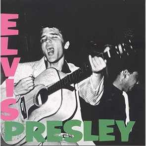 ELVIS PRESLEY WHITE LP
