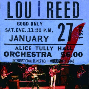 LOU REED LIVE AT ALICE TULLY HALL JANUARY 2LP Black Friday 2020