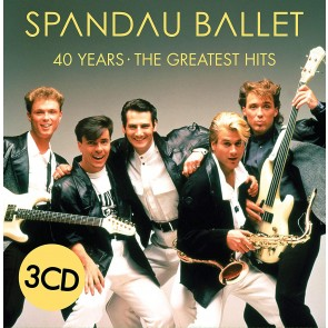 40 YEARS – THE GREATEST HITS (3CD DIGI)