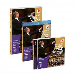 NEUJAHRSKONZERT 2021 / NEW YEAR'S CONCER (GSA Version)2CD