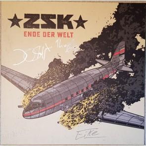 ENDE DER WELT CLEAR-RED SPLATTERED LP+CD