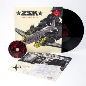ENDE DER WELT BLACK LP+CD