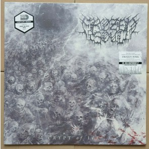 CRYPT OF ICE DEEP BLOOD RED LP