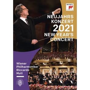 NEUJAHRSKONZERT 2021 / NEW YEAR'S CONCERT DVD