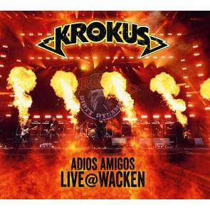 ADIOS AMIGOS LIVE @ WACKEN CD+DVD