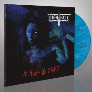 "AT NIGHT WE PREY 12"" VINYL GATEFOLD COLORED (COOL BLUE)"
