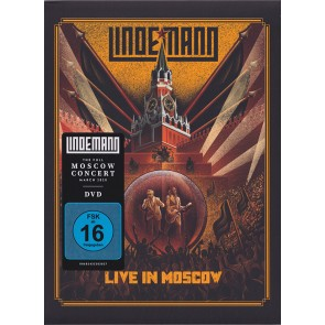 LIVE IN MOSCOW DVD