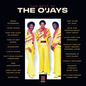 THE BEST OF THE O'JAYS 2LP