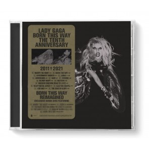 BORN THIS WAY (10TH ANNIVERSARY EDITION) 2CD